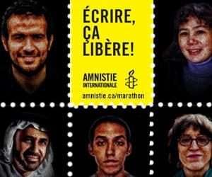 Amnistie Internationale - Écrire ça libère