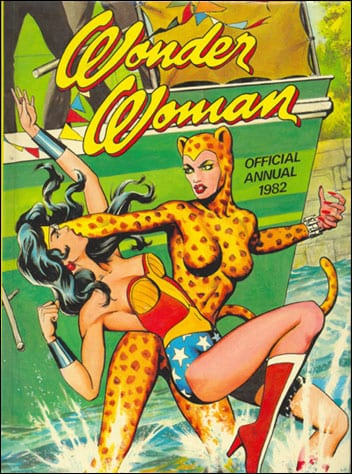 Wonder Woman en 1982, BD sexy mais pas érotique
