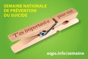 Semaine nationale du Suicide 2015