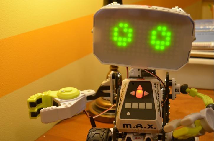Le Robot MAX de Meccano